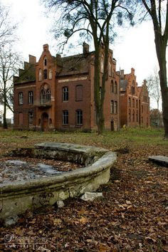 Abandoned Owińska Psychiatric Hospital, Poland. 1838-2009.