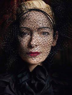 Tilda Swinton for Vogue Italia 2016