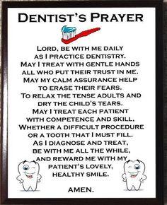 Dentist's Prayer                                                                                                                                                                                 More