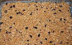 Grain Crazy: Millet Cranberry Bars