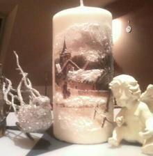 None Pillar Candles, Candles