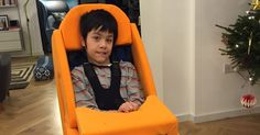 Emerson and Marcia Lee from Great Missenden can now sit comfortably at home thanks to some generous fundraisers.