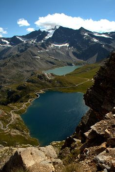 View from Colle del Nivolet - Gran Paradiso National Park, Piemonte, Italy