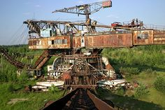 The Rusting Monsters of Lopatino's Mines, Russia - DRB