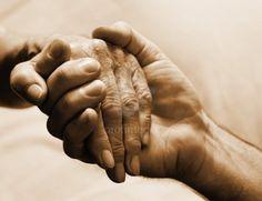 old couple holding hands image | Holding Hands Elderly