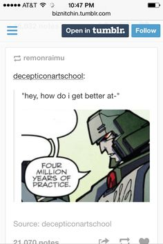 """I've had this happen. the funniest part is when they ask """"when did you start?"""" -""""No like when did you start DRAWING"""" -""""I made naruto oc's when I was four."""" (I was a weird kid. Tumblr Funny, Funny Memes, Hilarious, Jokes, Artist Problems, How To Get Better, The Draw, Art Memes, Artist Life"""