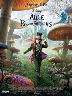 ' Alice au Pays des Merveilles '  (Alice in Wonderland) (film, movie 2010)