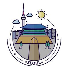 🇰🇷 . . . . . #korea #southkorea #seoul #icon #design #illustrator #illustration #dribbble #adobe #behance #artwork #graphicdesign #infographic #서울 #seoultower #한국