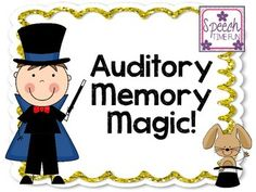 Want to improve your memory and sharpen your mind? The Memory Repair Protocol can help. Listening Games, Listening Skills, The Calling, Calling Cards, Speech Therapy Activities, Fun Activities, Memory Strategies, Auditory Processing Disorder, Magic Theme