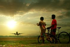 Dreaming...  http://inspirationfeed.com/photography/50-beautiful-examples-of-aviation-photography/2/