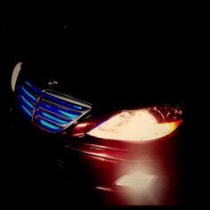 09 Hyundai Genesis. #soundoftristate installed blue LEDs in the grill under the car and to light up feet on the inside front and rear of the vehicle. — at Sound of Tri State - Wilmington. #led #ledlights #Hyundai #hyundaigenesis