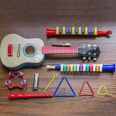 Carry a tune all the way home and give these musical toys to your kids.