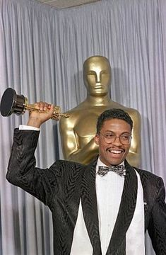 Herbie Hancock - First black winner of Best Original Score, Round Midnight (1986) - different to category previously won by Prince)