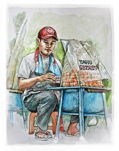 Penjual Tahu gejrot