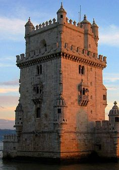 Torre de Belém (Belém Tower or the Tower of St Vincent), Santa Maria de Belém, Lisbon, Portugal