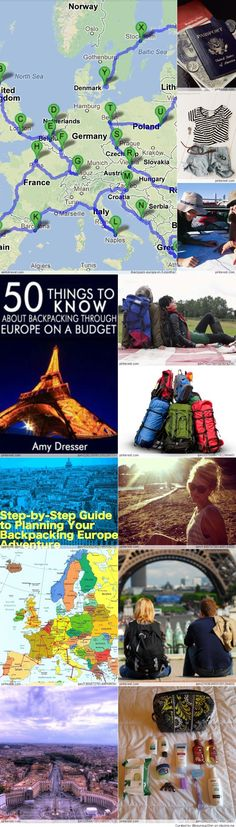 Backpacking Europe everything you need to know