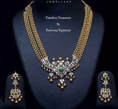 Trendy Long Chain by Praveena Tipirneni - Jewellery Designs