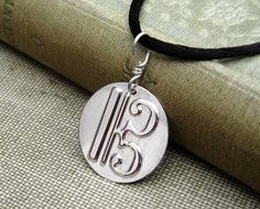 C Clef or Alto Clef Sterling Silver Stamped by nicholasandfelice, $ 14.50