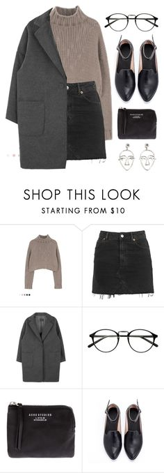 """Sin título #147"" by awayfromnewyork ❤ liked on Polyvore featuring Topshop, Acne Studios and MANGO"