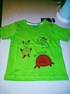 Felice di essere una stramba mamma: maglietta dipinta a mano