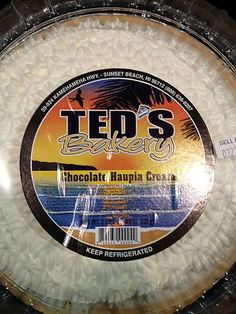 Ted's bakery- a must when visiting the North Shore!  Where the locals go for breakfast, decadent Pecan Rolls and best of all Haupia Cream Pie!