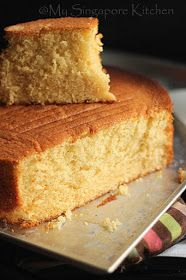 Here comes another basic recipe that I mostly use for birthday cakes. It can be covered with fresh cream or fondant and holds its shape b. Basic Sponge Cake Recipe, Easy Vanilla Cake Recipe, Vanilla Sponge Cake, Basic Cake, Sponge Cake Recipes, Pound Cake Recipes, Basic Recipe, Recipe For Plain Cake, Trinidad Sponge Cake Recipe