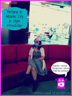 Whirlwind of Surprises: #Frockstar Spotted in Atlantic City! #travel #fashion