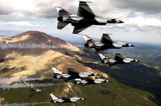 Photograph by Sergeant Larry Reid Jr./USAF - official photographer for the United States Air Force demonstration squadron Thunderbirds. video interview: http://vimeo.com/100279964