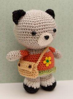 Etsy の Amigurumi Crochet Pattern Neko Cat by littlemuggles