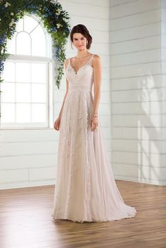 Essense of Australia Wedding Dresses — Ania Bridal Flattering Wedding Dress, Wedding Dress Styles, Designer Wedding Dresses, Bohemian Bride, Boho, Bridesmaid Dresses, Prom Dresses, Formal Dresses, Wedding Dress Bustle