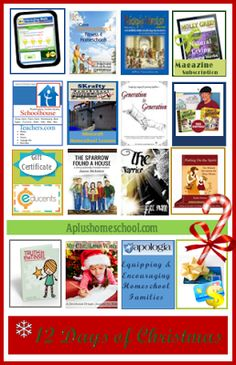 A+ Homeschool : 12 Days of Christmas: Day 7 - Putting on the Spirit eBook & Educents gift certificate!