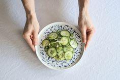 cucumber and fennel salad. Fennel Salad, Cucumber, Smoothies, Vegetables, Beverage, Food, Drink, Meal, Eten