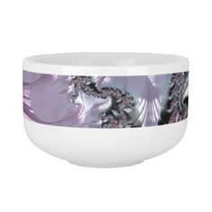 Fractals Soup Mug - home gifts ideas decor special unique custom individual customized individualized