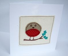 Christmas Card - Christmas Robin Card