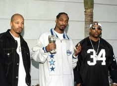 Warren-G, Snoop Dogg and Nate Dogg