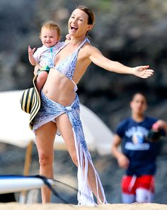 Whoa mama! Younger Hollywood stars have some tough bikini body competition in Jane Seymour.