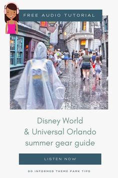 Don't let the weather spoil your Disney World vacation! Beat the Orlando summer heat & rain with this essential gear guide from Go Informed. At GoInformed.net/24 Disney World Tickets, Disney World Florida, Walt Disney World Vacations, Florida Travel, Best Vacations, Orlando Weather, Orlando Theme Parks, Disney World Planning, Disney World Tips And Tricks