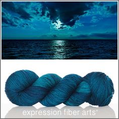 Expression Fiber Arts, Inc. - LAGUNA 'RESILIENT' SUPERWASH MERINO SOCKYARN , $24.00 (http://www.expressionfiberarts.com/products/laguna-resilient-superwash-merino-sock.html)