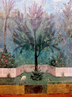 Roman Frescoes.