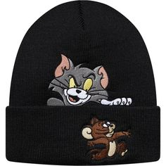 Cartoon의 레전드 톰 & 제리 콜라보! Supreme 슈프림 [Supreme] Supreme X Tom & Jerry© Beanie Black