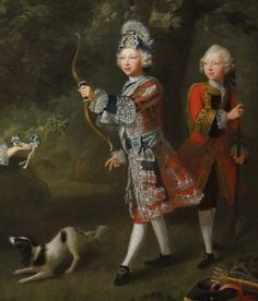 https://flic.kr/p/o68BGj | Queen's Gallery (Set 3), Buckingham Palace | Barthelemy Du Pan (1712-63) - The children of Frederick, Prince of Wales, 1746 : detail