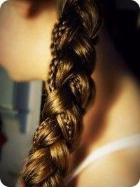 braid in braid - so cute!