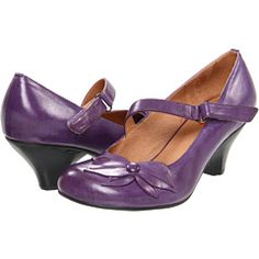 Why must cute shoes always be out of my budget? Love these in purple! Not too high!