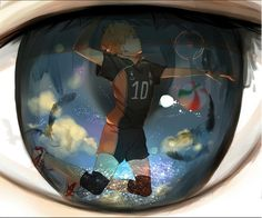 Haikyuu!! ~~ What the setter sees astonishes and entrances him :: Kageyama Tobio x Hinata Shouyou