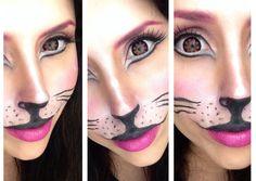 CAT Make-up Tutorial - Carnevale 2014 - YouTube