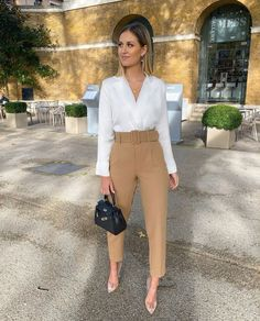 January 11 2020 at fashion-inspo Simple Work Outfits, Classy Outfits, Casual Outfits, Summer Outfits, Mode Outfits, Office Outfits, Fashion Outfits, Fashion Clothes, Clothes Women