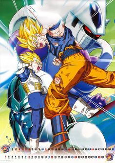 Goku & Vegeta vs Cooler