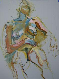"Piotr Antonow; ""Nude portrait of V"""