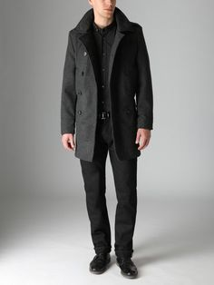 French Connection - Wool Dawson Peacoat