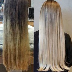 Um loiro para casar! A linda Raissa ficou #loirodossonhos já pensando no penteado para seu casamento dentro de 15 dias. Sem marcação e muito natural. Com @alynemarry. #equipeclaudir #brunobenitez #loiroclaudir #bbblond #blondhair